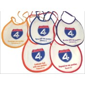 Baby Bibs 8 Different Color Assorted