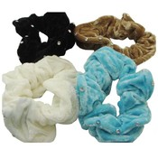 Scrunchies Hair Accessories Assorted Colors