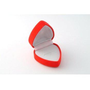 DDI see More… Red Velvet Heart Box - 3 Pcs Pieces Per Case