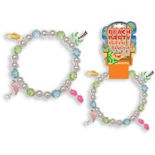 Beach Party Tropical Charm Bracelet