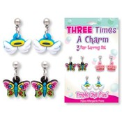 Three Times a Charm | 3 pr Earring Set