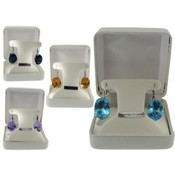 Austrian Crystal Princess Di Earrings