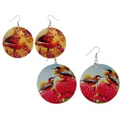 Genuine Shell Bird Earrings /Priced per dozen