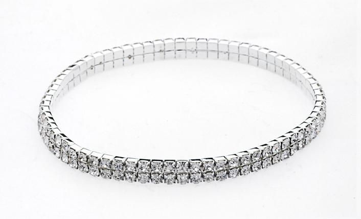 SWAROVSKI Austrian Crystal Stretch Anklets - Silver [1475542]