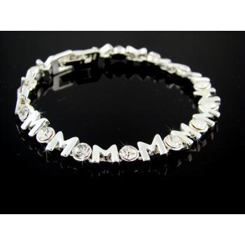 SWAROVSKI Forever Mom Bracelet | Gold (377998)