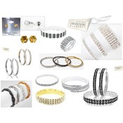 50 pcs. Austrian Crystal Jewelry Lot Wholesale Bulk