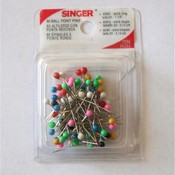 Singer Ball Point Pins, 80pk Wholesale Bulk