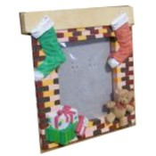 Case of 100 4&quot; Stocking/Bear Holiday Frames