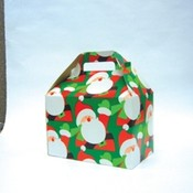 'Happy Santa' Gable Box Wholesale Bulk