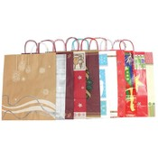 Holiday Gift Bag Assortment - Saville/Jumbo Wholesale Bulk