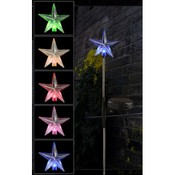 Solar Powered Star Garden Yard Stick