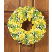 KIGI 15' Diameter Everlasting Rose Wreath Wholesale Bulk