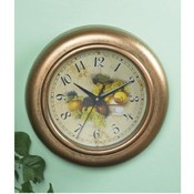 "10""  Diameter  Fruit Wall Clock"