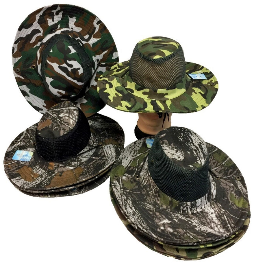 Camo Boonie FISHING Hat [1987717]