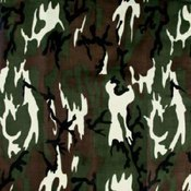Army Camo Bandanas - Dozen Packed 22x22
