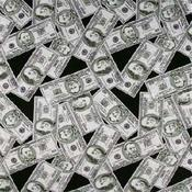 Money Print Bandanas - Dozen Packed 22x22