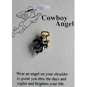 Cowboy Angel Pin