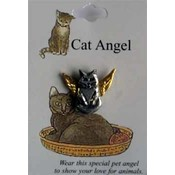 Cat Angel Pins