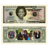 Michelle Obama Million Dollar Bills