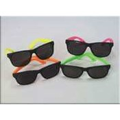 Basic Neon Sunglasses-Adults