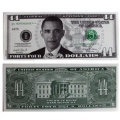 Barack Obama 44 Dollar Federal Optimism Note