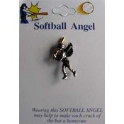 Softball Angel Pins