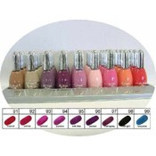 La Femme Nail Polish Silver Cap Tray #11