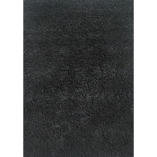 51x78 Area Rug- Black Shag