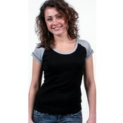 Ladies Short Sleeve Top