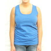 Ladies Blue Tank Top