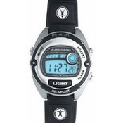 EGLUCK CORPORTATION Armitron Ladies Watch - Sport Silver Black Strap Wholesale Bulk