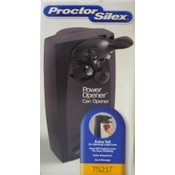 Proctor Silex Black Can Opener, Durable