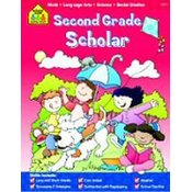 SCHOOL ZONE PUBLISHI Workbook Second Grade Scholar Wholesale Bulk