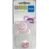 Mam 2Mth+ Trends Sili Pacifier