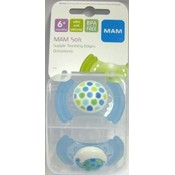 Mam 6Mth+ Soft Silicone Pacifier