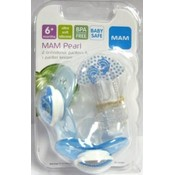 Mam 6Mth+ Pearl Sili Pacifier