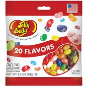 Jelly Belly 20 Flavor Peg 3.5 Oz