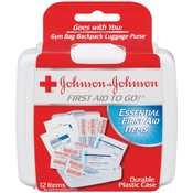 J&J First Aid Travel Kit