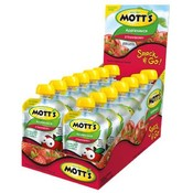 Motts Strawberry Applesauce Snack & Go 3.2 oz