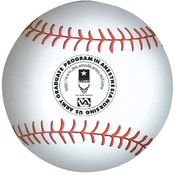 5.5&quot; Baseball Magnet