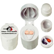 Pill Cutter, Cup & Crusher - White