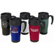 16Oz Solid Travel Mug - White Wholesale Bulk