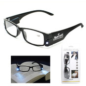 Reading Glasses 2.5 W/Light
