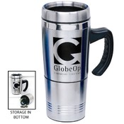 Stainless Steel Mug W/Storage Wholesale Bulk