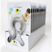 12 Pack Li'l Helper Baby Bottle Holder-Gray