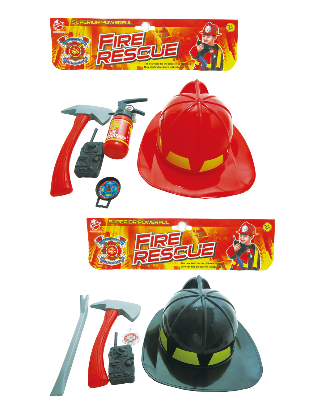 Combat Fire Rescue HELMET Play Set (2 Assorted) [1940378]