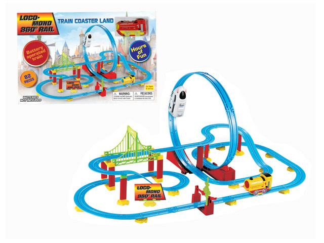Battery Operated TRAIN Coaster Land (2 assorted ) (2122913)