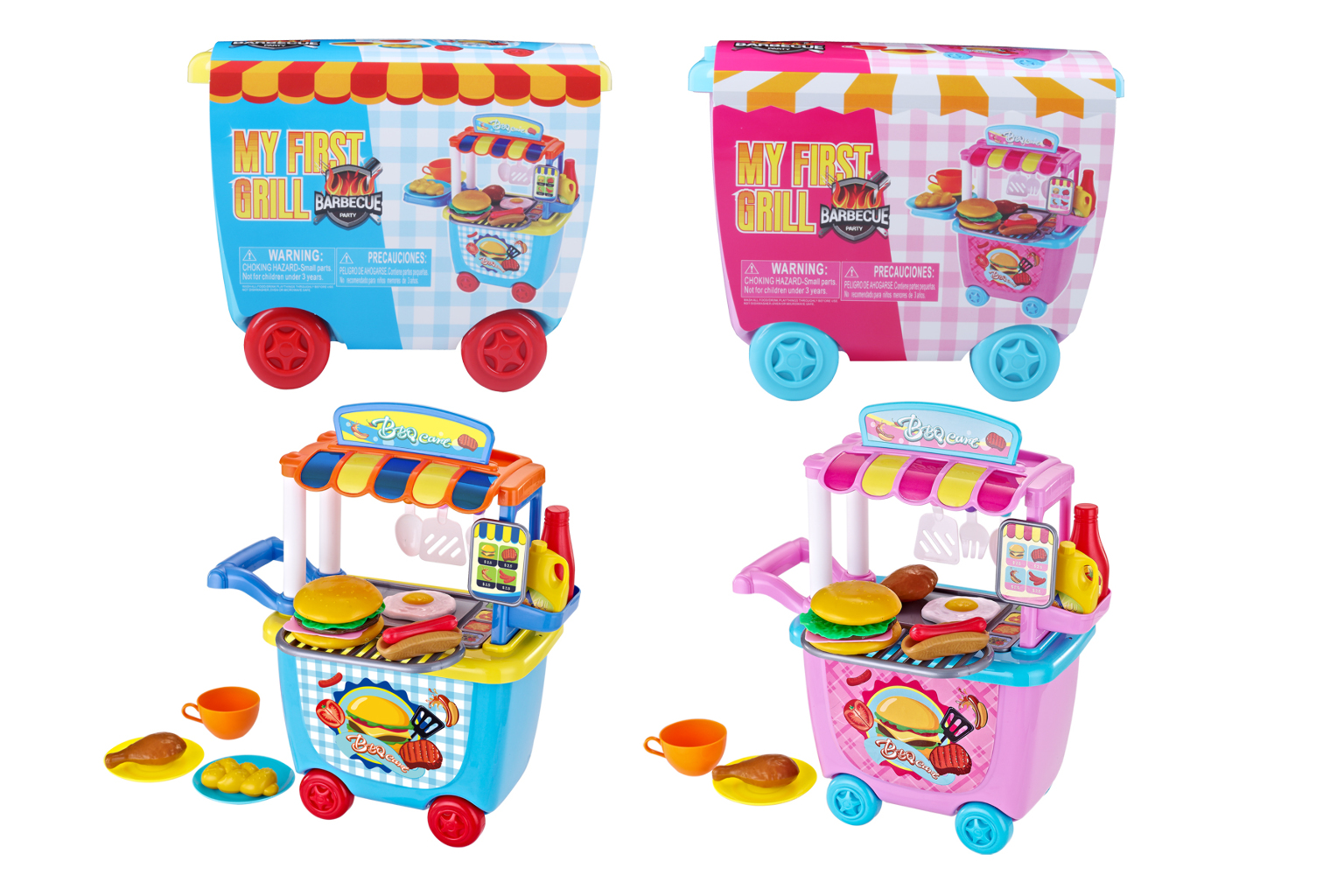 My First Grill BBQ Playset - Assorted Color [2339825]