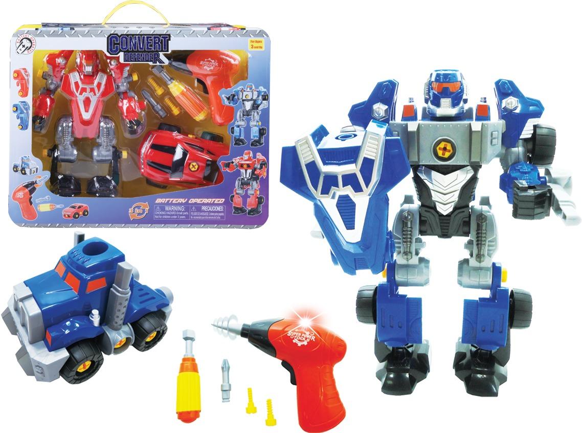 ''Eductional Changeable 9.5'''' Robot (2128861)''