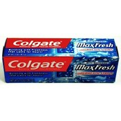 ColgateFluoride Toothpaste Max Fresh Cool Mint
